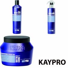 Kit mic reparator cu peptide pentru parul degradat - Botu-Cure - KAY PRO - 3 produse cu 30% discount
