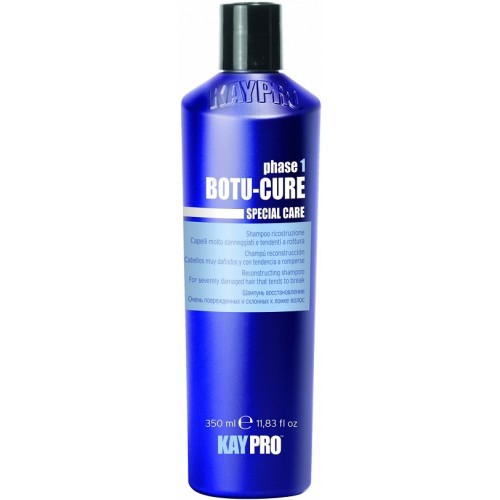 Sampon Reparator Cu Peptide - Reconstructing Shampoo With Plant Peptides - Botu-cure - Kaypro - 350 Ml