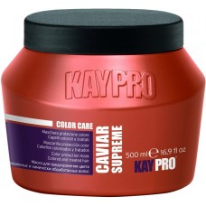 Masca pentru par vopsit cu caviar - Color Protection Mask With Caviar - Caviar Supreme - KAYPRO - 500 ml