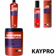 Kit pentru par vopsit - Caviar Supreme - KAY PRO - 3 produse cu 30% discount