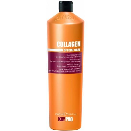 Sampon Anti-age Cu Colagen - Anti-age Shampoo With Collagen - Collagen - Kaypro - 1000 Ml