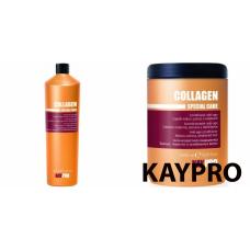 Kit mare anti-imbatranire pentru par - Collagen - KAY PRO - 2 produse cu 30% discount