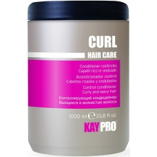 Balsam cu miere, vitamine (par cret, ondulat) - Control Conditioner Curly, Wavy Hair - Curl - KAYPRO - 1000 ml