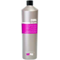 Sampon cu miere, vitamine (par cret, ondulat) - Control Shampoo Curly And Wavy Hair - Curl - KAYPRO - 1000 ml