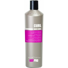 Sampon cu miere, vitamine (par cret, ondulat) - Control Shampoo Curly And Wavy Hair - Curl - KAYPRO - 350 ml
