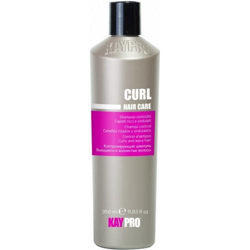 Sampon Cu Miere, Vitamine (par Cret, Ondulat) - Control Shampoo Curly And Wavy Hair - Curl - Kaypro - 350 Ml