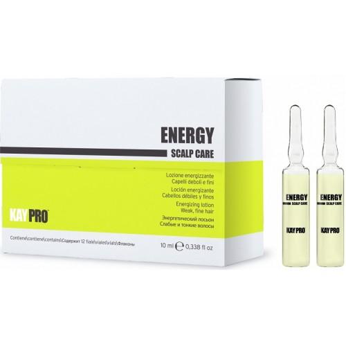 Lotiune Energizanta Pentru Parul Fin - Energizing Lotion Weak, Fine Hair - Energy - Kaypro - 12 X 10 Ml