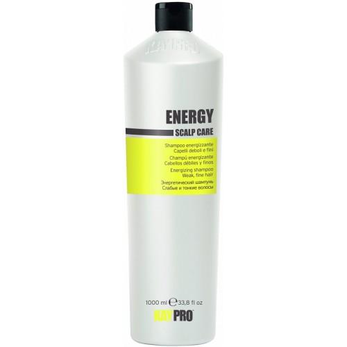 Sampon Energizant Pentru Parul Fin - Energizing Shampoo Weak, Fine Hair - Energy - Kaypro - 1000 Ml