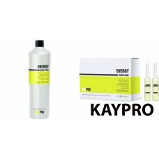 Kit energizant pentru parul fin - Energy - KAY PRO - 2 produse cu 30% discount