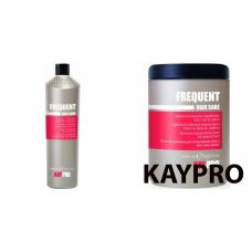 Kit regenerant mare pentru toate tipurile de par - Frequent - KAY PRO - 2 produse cu 30% discount