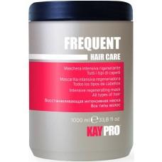 Masca regeneranta pentru toate tipurile de par - Intensive Regenerating Mask - Frequent - KAYPRO - 1000 ml