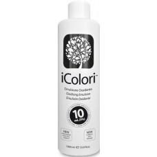 Oxidant profesional pentru vopseaua iColori - 3% (10 vol) - Oxidising Emulsion - iColori - 1000 ml