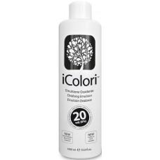 Oxidant profesional pentru vopseaua iColori - 6% (20 vol) - Oxidising Emulsion - iColori - 1000 ml