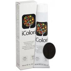 Vopsea de par profesionala permanenta - 2 - Hair Color Cream - iColori - 90 ml