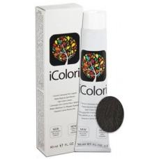 Vopsea de par profesionala permanenta - 4.1 - Hair Color Cream - iColori - 90 ml