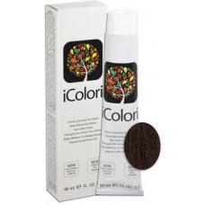 Vopsea de par profesionala permanenta - 4.5 - Hair Color Cream - iColori - 90 ml