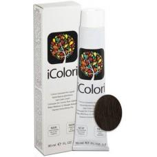 Vopsea de par profesionala permanenta - 5.03 - Hair Color Cream - iColori - 90 ml