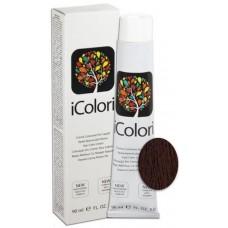 Vopsea de par profesionala permanenta - 5.2 - Hair Color Cream - iColori - 90 ml