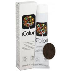 Vopsea de par profesionala permanenta - 5.3 - Hair Color Cream - iColori - 90 ml
