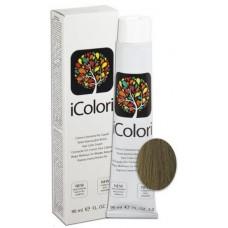 Vopsea de par profesionala permanenta - 8/2 - Hair Color Cream - iColori - 90 ml