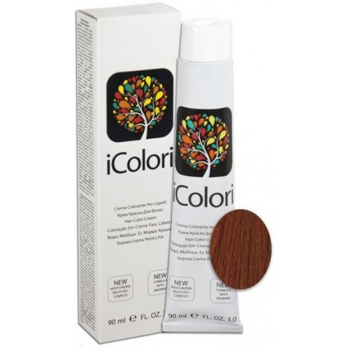 Vopsea De Par Profesionala Permanenta - 8.4 - Hair Color Cream - Icolori - 90 Ml