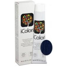 Vopsea de par profesionala permanenta - Blue - Hair Color Cream - iColori - 90 ml