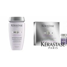 Kit anti-matreata - sampon + fiole - Specifique - Kérastase - 2 produse cu 5% discount