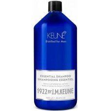 Sampon esential hidratant pentru par, barba si corp - Essential Shampoo - Distilled for Men - Keune - 1000 ml