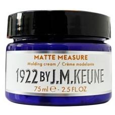Pasta mata pentru modelarea parului - Matte Measure Molding Cream - Distilled For Men - Keune - 75 ml