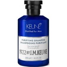 Sampon purificator impotriva matretii pentru barbati - Purifying Shampoo - Distilled for Men - Keune - 250 ml