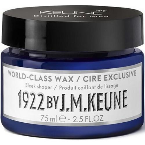 Ceara De Par Cu Fixare Medie Pentru Barbati - World Class Wax - Distilled For Men - Keune - 75 Ml