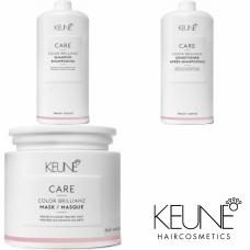 Kit mare pentru sigilarea culorii parului - Color Brillianz - Keune - 3 produse cu 15% discount