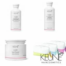 Kit pentru sigilarea culorii parului + borseta - Color Brillianz - Keune - 4 produse cu 34.87% discount
