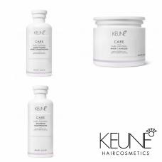 Kit pentru reactivarea buclelor - Keratin Curl - Keune - 3 produse cu 15% discount