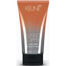 Vopsea non-permanenta pentru parul decolorat - Sunset Copper - Color Craving - Keune - 150 ml