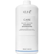 Sampon violet pentru neutralizarea tonurilor de galben - Shampoo - Silver Savior - Keune - 1000 ml
