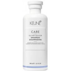 Sampon violet pentru neutralizarea tonurilor de galben - Shampoo - Silver Savior - Keune - 300 ml