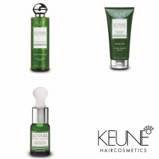 Kit intensiv anti-mătreață (fără sulfați și parabeni) - So Pure Exfoliating - Keune - 3 produse cu 15% discount