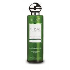 Șampon anti-mătreață - Exfoliating Shampoo - So Pure - Keune - 250 ml