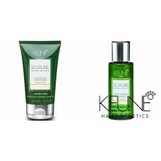 Kit mic hidratant pentru parul uscat - So Pure Moisturizing - Keune - 2 produse cu 15% discount