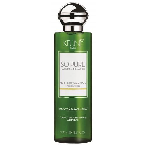 Sampon Intens Hidratant Pentru Par Uscat - Moisturizing Shampoo - So Pure - Keune - 250 Ml