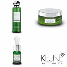 Kit reparator pentru păr intens degradat - So Pure Recover - Keune - 3 produse