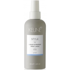 Spray fixativ fara aerosoli cu fixare puternica - Liquid Hairspray - Style - Keune - 200 ml