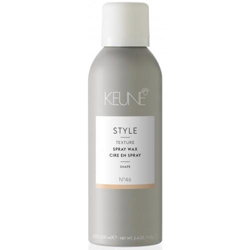 Spray-ceara Pentru Efect Texturat - Spray Wax - Style - Keune - 200 Ml