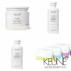 Kit reparator pentru parul degradat + borseta - Vital Nutrition - Keune - 4 produse cu 26.19% discount