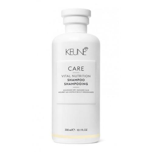 Șampon Nutritiv și Hidratant Pentru Păr Intens Degradat - Vital Nutrition Shampoo - Keune - 300 Ml