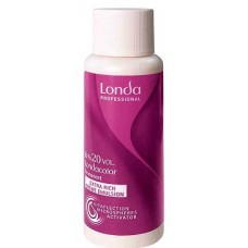 Oxidant permanent - 6% - 20 Vol - Extra Rich Creme Emulsion - Londacolor - Londa Professional - 60 ml