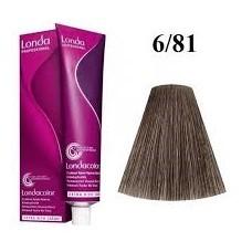 Vopsea profesionala permanenta - 6/81 - Londacolor Permanent - Londa Professional - 60 ml