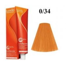 Vopsea profesionala semi permanenta - 0/34  - Londacolor - Londa Professional - 60 ml