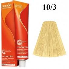 Vopsea profesionala semi permanenta - 10/3 - Londacolor - Londa Professional - 60 ml